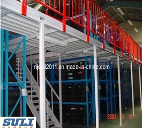 Mezzanine Steel/Metal Floor Rack for Warehouse Storage Display pictures & photos