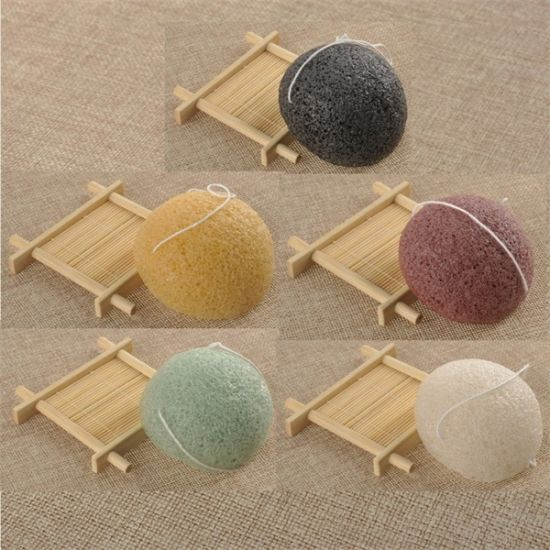 China Soft Wet /Dry Konjac Bath Sponge /Kids Bath Sponges - China ...