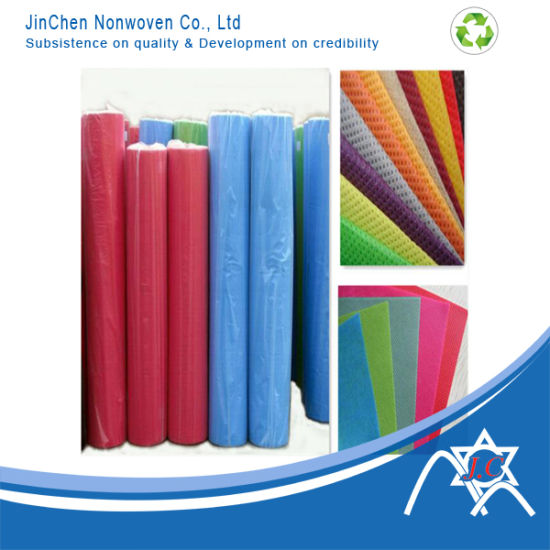 PP Spunbond Nonwoven Cloth Fabric for Shopping Bag pictures & photos