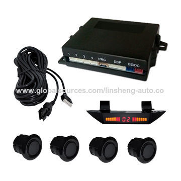 System with LED Display and Buzzer Parking Sensor