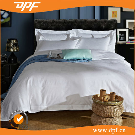 100%Egyptian Cotton 600tc White Hotel Bedding Linen Collection pictures & photos