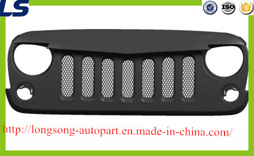 Mesh Angry Bird Grille with Mesh Inserts Grid for Jeep Rubicon Sahara