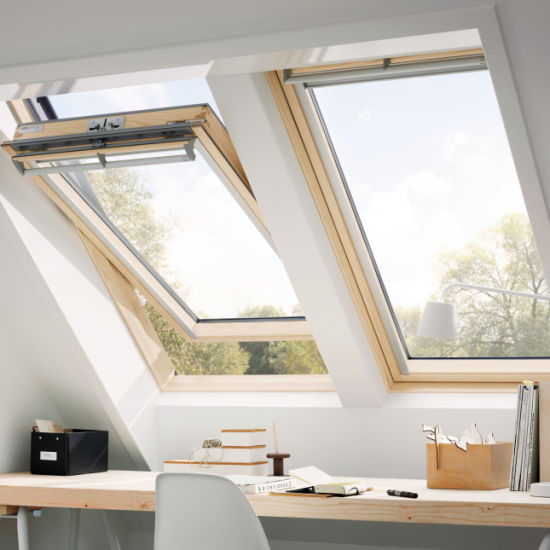 House Triple Pane Glass Roofing Access Skylight