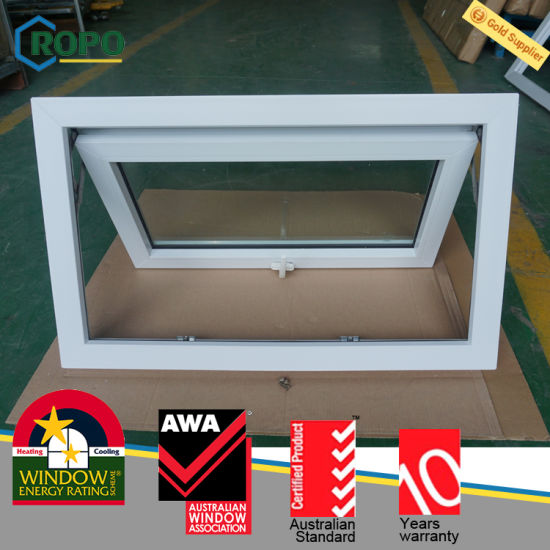 china upvc double glazed window pvc awning window design china