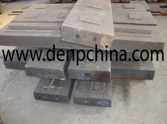 High Manganese Blow Bar/ Hammer Plate pictures & photos