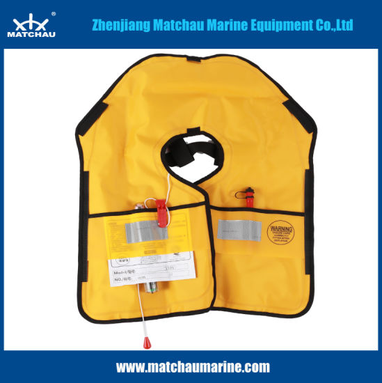 China High Quality Manual Inflatable Life Vest - China
