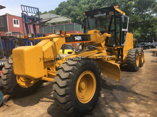 China Used Cat 140h Motor Grader with High Quality