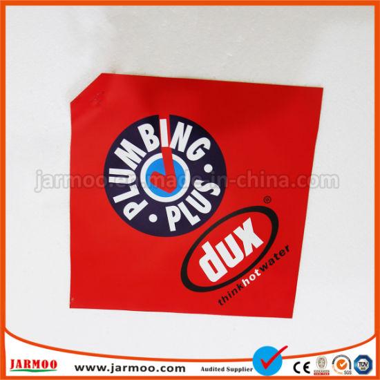 China Custom Printing Red Warning Flag - China Warning Flag