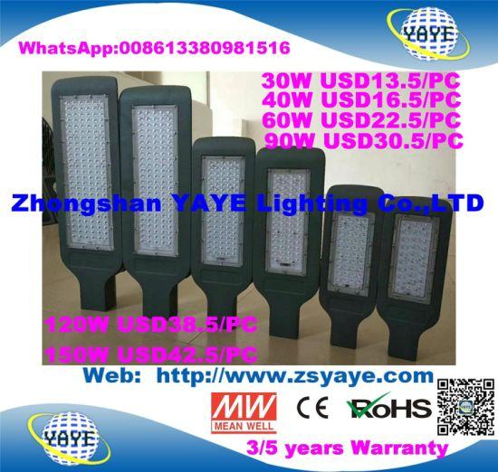 Yaye 18 Hot Sell Ce/RoHS USD38.5/PC for Osram 120W LED Street Light /120W LED Street Lighting