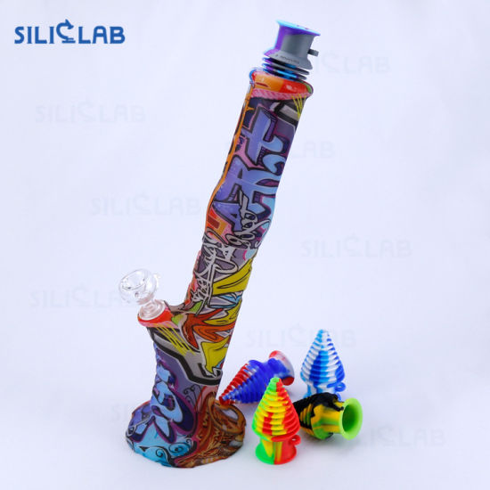 Weed Smoking Accessories Bubbler Silicone Mouthpiece for Glass Water Pipe pictures & photos