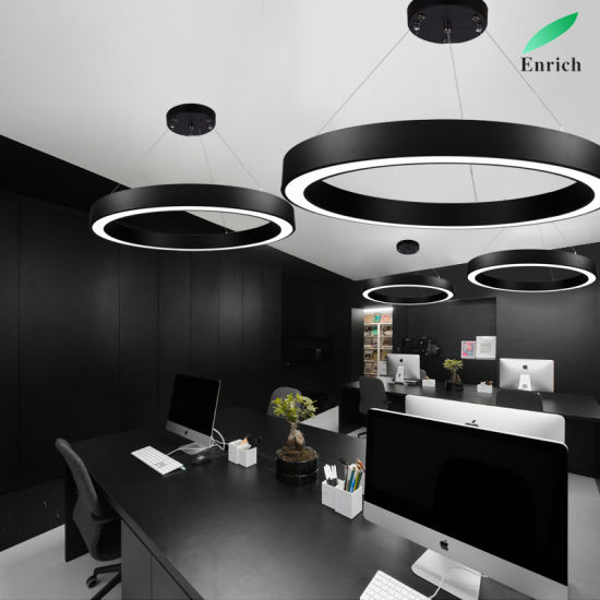 Round LED Luminaire Light for Meeting Room pictures & photos