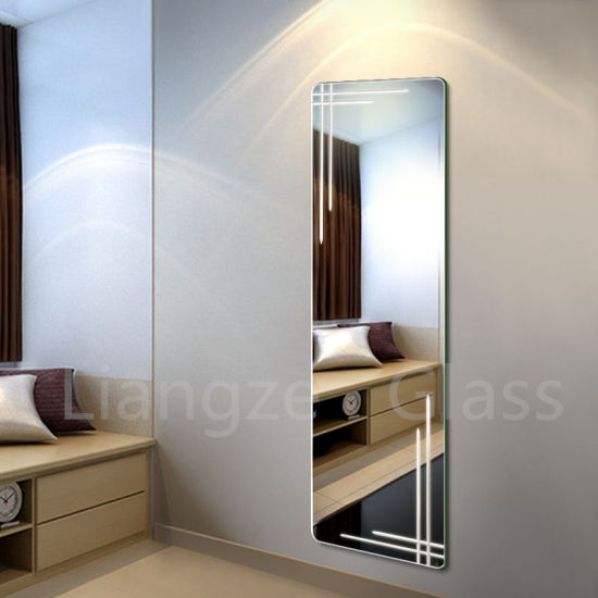 China Frameless Waterproof Wall Silver Mirror for Home Decoration ...
