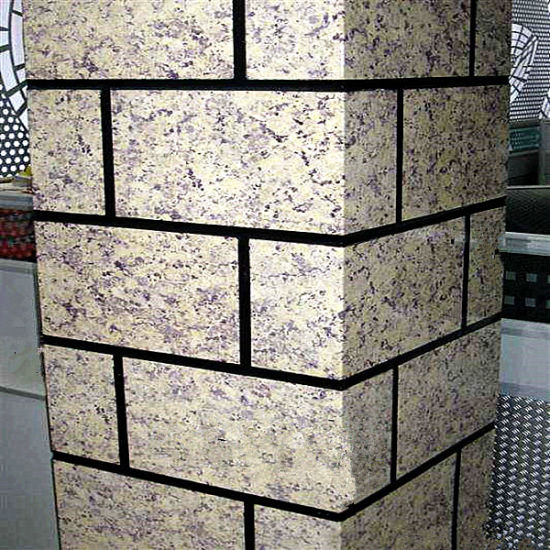 Stone Color Coils Coated Aluminium Cladding Panel for Exterior Wall Decoration