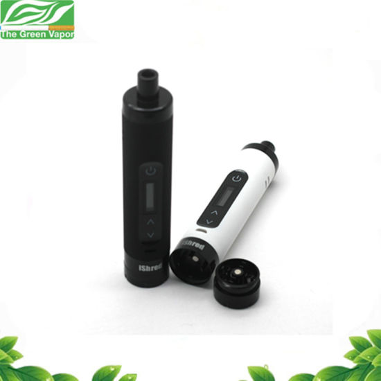 New Design Dry Herb Vaporizer Kit Ishred 2600mAh with Built in Grinder pictures & photos