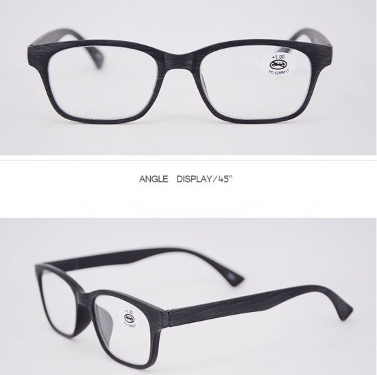 2ea26bfb829 Hot Selling High Quality Wood PC Reading Glasses Ready Goods Retail Reading  Glasses (KPR17091)