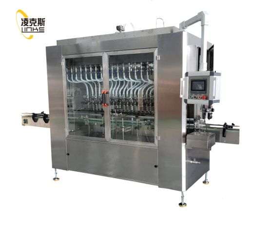 Automatic Daily Chemical Product Pesticide Filling Machine System pictures & photos