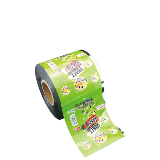 Effictive Nut Plastic Packing Film for Food Packaging