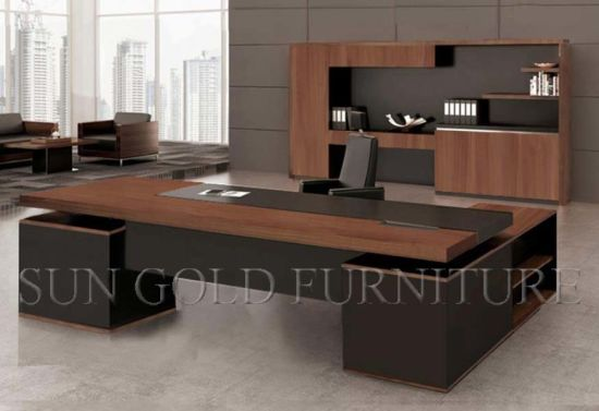 china high quality foshan luxury office table executive desk wooden