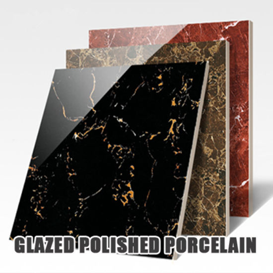 600X600mm Building Material Marble Glazed Polished Porcelain Ceramic Flooring Tiles
