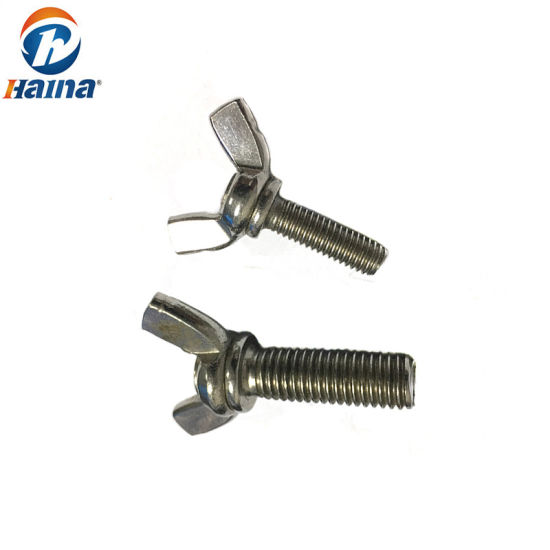 Stainless Steel Butterfly Wing Nut and Wing Bolt pictures & photos