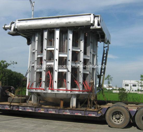 0.5~60 Ton Steel Enclosure Big Capacity Medium Frequency Induction Melting Furnace