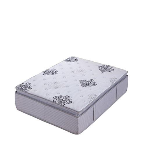 Luxury Design Bamboo Fabric Single Pillow Top Pocket Spring 5 Star Hotel Mattress
