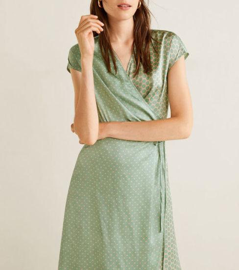 30ac127cd0195 Wholesales Customized Ladies DOT Printed Mini Dress, Women′s Summer Dresses.  Get Latest Price