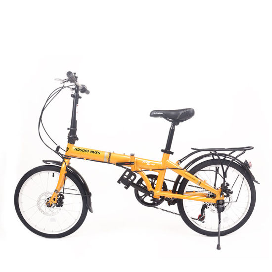 20 Inch Al Alloy Variable Speed City Bike Folding Portable Bicycle