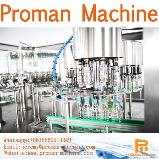 Ce Mineral Water Bottling Machine SUS304 Fully Automatic Water Plant Price