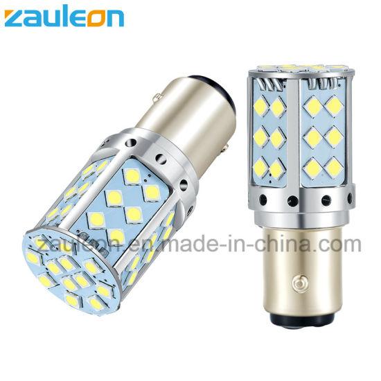 Super Bright LED Car Light 1157 1156 White 1253lm for Signal Brake Stop Reverse DRL Lamp