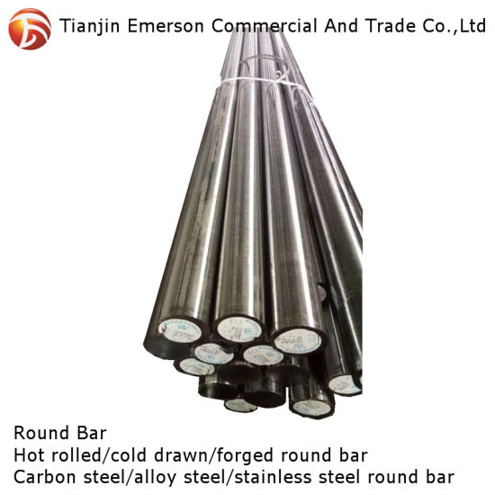 SAE 1045 4140 4145 Forged Carbon Steel Round Bar