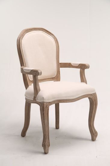China Kvj 7149 Upholstery French, Antique Dining Room Chairs