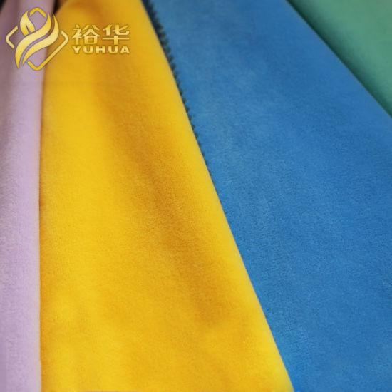 100% Polyester Super Soft Micro Velboa Plush Toys Fur Fabric