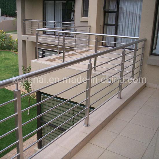 Residential Railing System Balcony Stainless Steel Balustrade