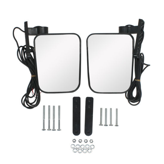 UTV Exterior Accessories with LED Turn Light Side Rear View Mirror