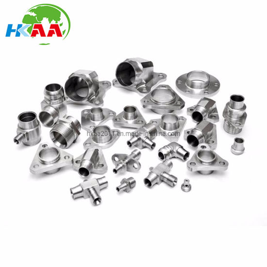 CNC Milling, CNC Turning High Nickel Alloy Titanium Alloy Adaptor, Elbow, Coupler End Cap for Aerospace Parts pictures & photos