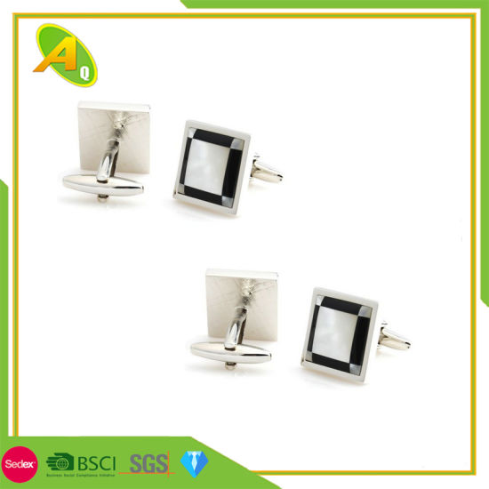Customized Metal Enamel Gift Fashion Decoration Cufflink (003)