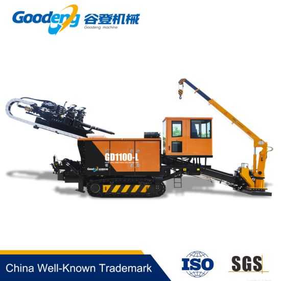 GD 110T trenchless equipment drilling machine for water/electricity/ sewage system