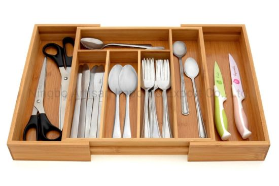 Drawer Expandable Cutlery Organizers Tray