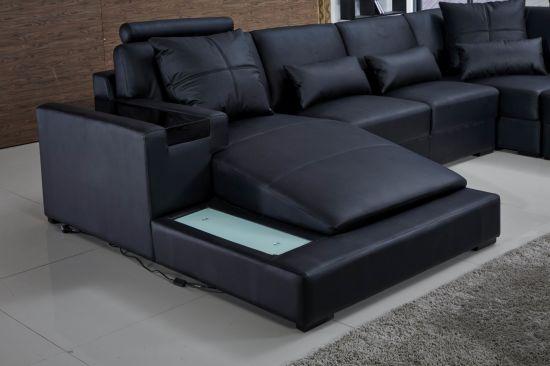 Leather Sofa New Style Set