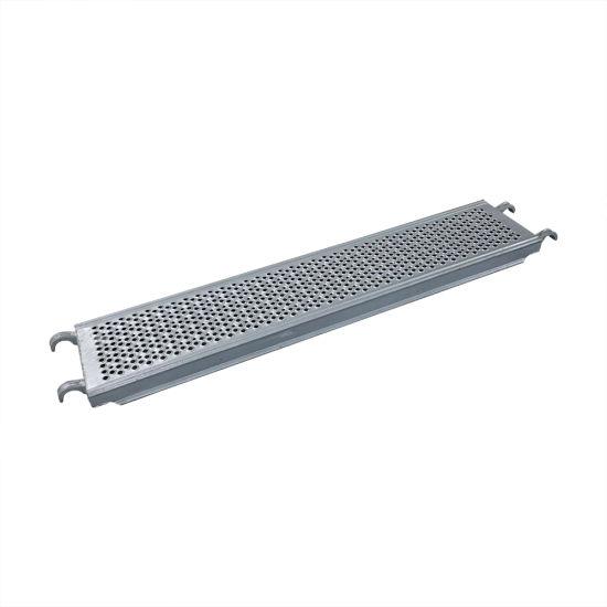 ANSI Certified Ringlock/Cuplock/Frame Formwork Steel O-Steel Plank Scaffold for Internal Access Tower