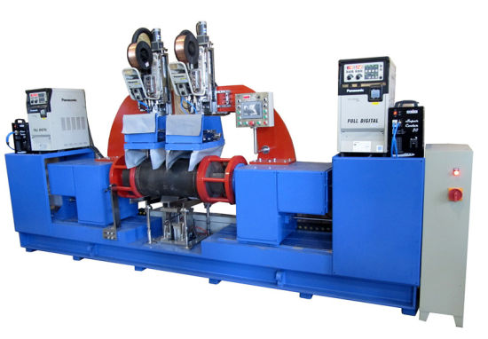 Stainless Steel Tank Circumferential Seam Welding Machine