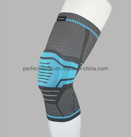Improved Nylon Knee Brace with Silica Gel