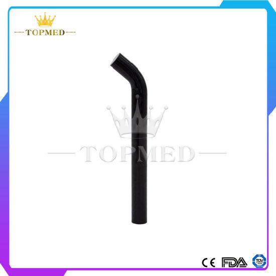8mm Dental LED Curing Light Glass Black Dental Curing Tip Dental Material