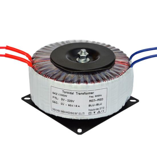 High Insulation Strength 1500va Toroidal Transformer