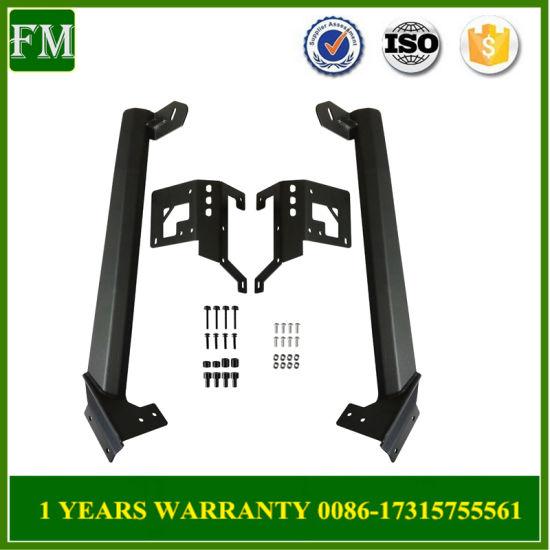 China Work Light Bar Kit Top Mounting Bracket For 07 15