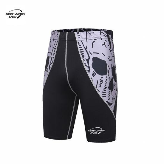 Cody Lundin Men's Casual Sports Beach Shorts Men's Compression MMA Running Shorts Marathon Fitness Training Quick-Drying Gym Jogging Shorts
