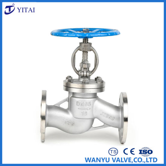 Stainless Steel Hand Wheel Flange Globe Valve pictures & photos