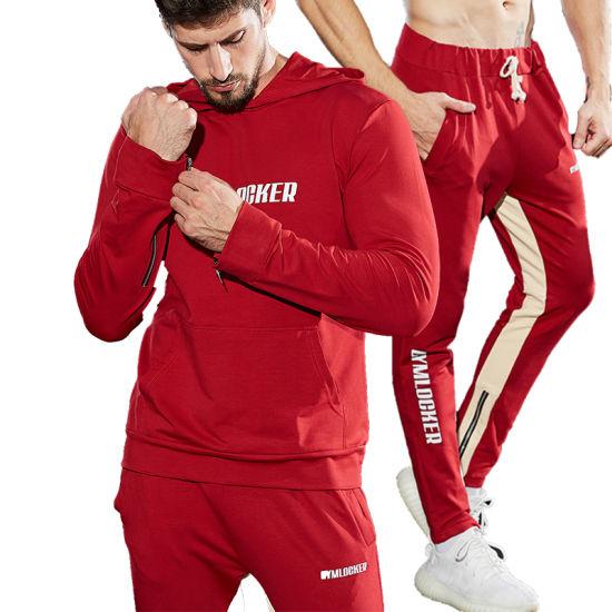 7675868e65 Design Your Own Tracksuit 2019 Custom Design Sports Mens Track Suits Gym  Joggers Sweatsuit