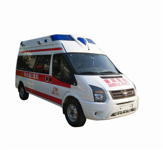 Factory Supply 4X2 Left Hand Drive Diesel Engine 100kw Emergency Mobile Hospital ICU Ambulance